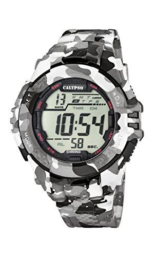 Calypso Herren-Armbanduhr Digital Quarz Plastik K5681/1