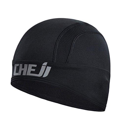 Radfahren Nabenkappen Bike Hüte Universal Helm für Radfahren Laufen Camping Wandern Skifahren Totenkopf Kappen (Black Brooks Fleece)