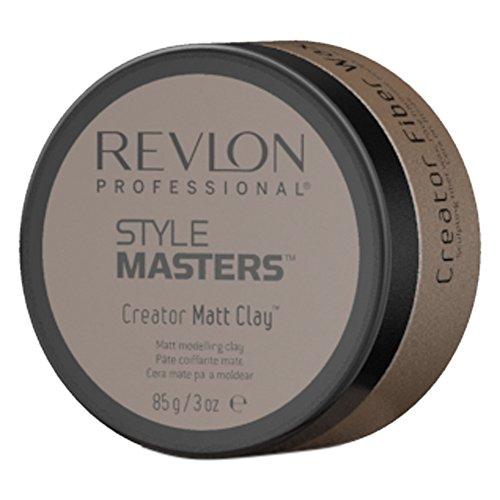 REVLON PROFESSIONAL Creator Matt Clay Matte Modelierpaste,1er Pack (1 x 85 g)