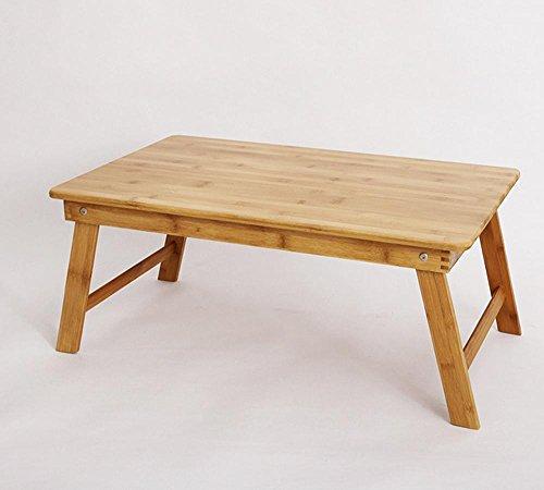 KHSKX Semplice bambù pieghevole tavolo, elegante raffreddamento notebook computer desk , Trumpet