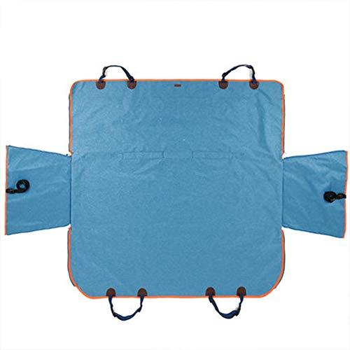 GYJ Hund Autositzbezug, Wasserdicht & Kratzfest rutschfeste Rückendeckel Haustier Rutschfester Schutz Reisehängematte Universal Für alle Autos Hohe Qualität -