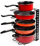 Best Pots  Pans - Callas Height Adjustable Kitchen Cookware Organizer Pan Rack Review
