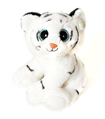Fieras - Peluche Tigre blanco 30cm - Calidad super soft