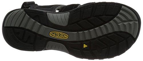 KEEN Uomini Sandalo Trekkingsandale NEWPORT H2 Nero Nero - 1.001.907 Black Gargoyle