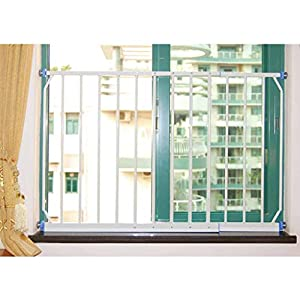 Huo Baby Safety Gate with 4 Pressured Adjustment Bolts for Window/Doorways, (Size : 260-335cm)   3