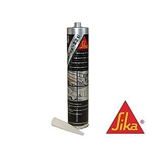 Sikaflex -221i Dichtstoff Karosseriedichtmasse Spoilerkleber 300ml Stahlgrau