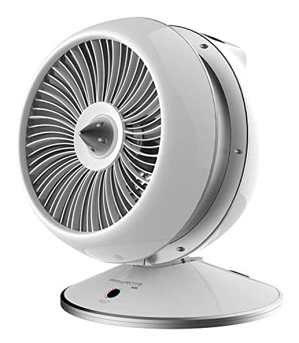 Rowenta HQ7112 Air Force Hot & Cool 2in1 Ventilator und Heizlüfter (2600 Watt, LED Display) weiß/silber (Generalüberholt)
