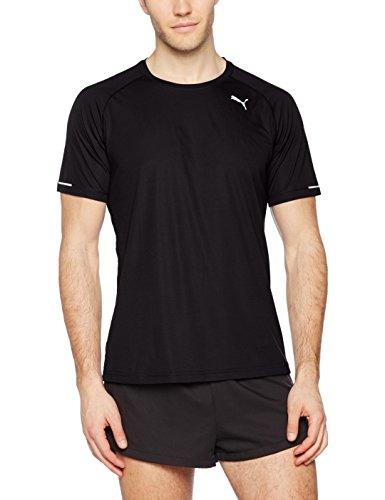 PUMA Herren Core-Run S/S Tee T-Shirt, Puma Black, XXL Preisvergleich