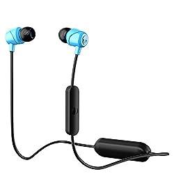 Skullcandy Jib Wireless In-Ear Earphones with Mic (Blue)