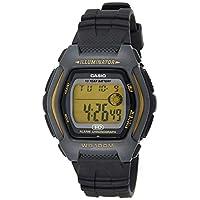 Casio Mens Quartz Watch, Digital Display and Resin Strap HDD-600G-9AVDF