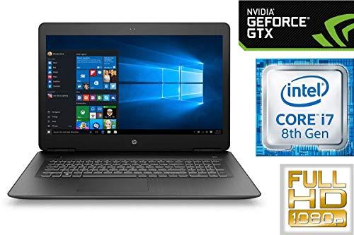 Notebook Pavilion 17-AB - Core i7-8750H - 32GB DDR4-RAM - 500GB SSD + 1TB HDD - Windows 10 - Nvidia GTX 1050 - 44cm (17.3