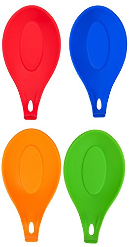 silicone-spoon-rest-set-of-4-colorful-durable-attractive-kitchen-utensils-wont-chip-crack-or-rust-di
