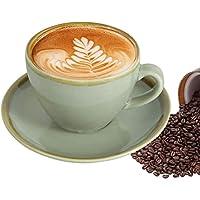 Coffee Cups Mugs Kiln Ceramic Cups Saucers 220 ml