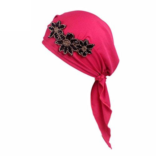 er bei Haarverlust Hat Head Wrap Diamant als Modeaccessoire Haar Band Turban Twist Stirnband Schnitt Haarband für Mädchen Baby Girl Elastic Flower Print Haarband Bohemia Kopfschmuck (Flower Child Stirnbänder)