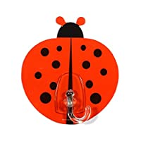 Gad Gels V2TGS00C00 Ladybird, Set of 2 multipurpose hook, reusable, removable with no glue
