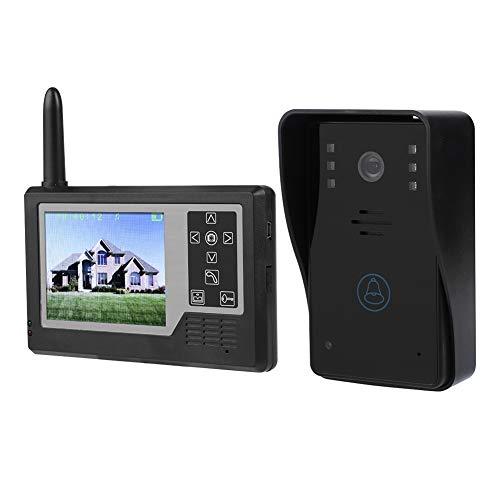 Eboxer Videocitofono Senza Fili Completamente Digitale TFT da 2,4 Pollici da 3,5 Pollici TFT con citofono Campanello per casa (Tranne Monitor Interno)