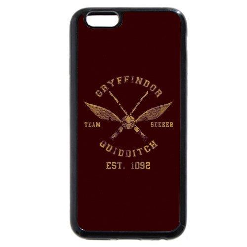 onelee-personnalisé personnalisée en caoutchouc souple noir (TPU) Coque iPhone 64.7, Harry Potter pour iPhone 64.7, Harry Potter Carte du Maraudeur iPhone 64.7Coque, uniquement pou