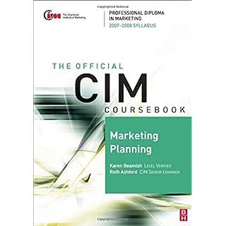 Cim Coursebook 07/08 Marketing Planning (CIM Coursebook) (The Official CIM Coursebook)