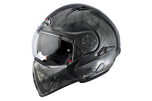 Airoh J652 Motorrad Helm J106, Größe : 54 cm, Grau