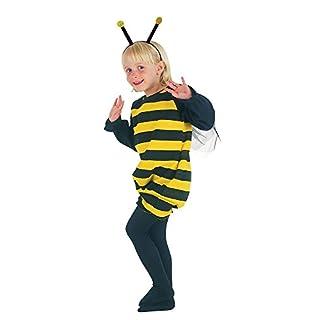 Bristol Novelty- Cc014Costume d'abeille pour Tout-Petit, Noir, XS
