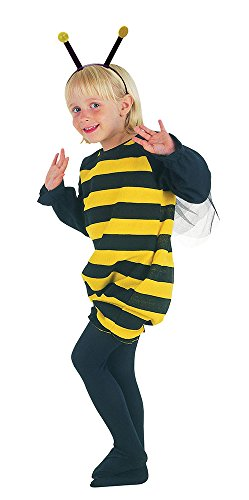 Bristol Novelty CC014Bumble Bee Kleinkind Kostüm, schwarz, XS (Bumble Bee Halloween Kostüm Ideen)