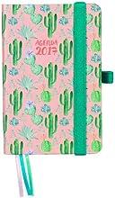 Finocam 936917 - Agenda semana vista 2017, diseño Cactus
