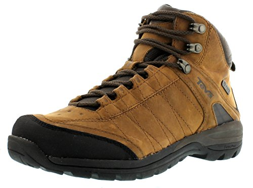 Teva Kimtah Mid eVent Leather W's, Scarpe da escursionismo e trekking donna, Marrone (Braun (bison 561)), 38