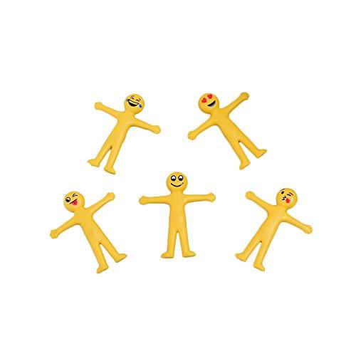 CTGVH Smiley-Männchen-Spielzeug, dehnbar, weich, Anti-Stress, für Partys, Büro, Studenten, kreatives Geschenk