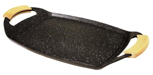 Baumalu 384131 Plancha Fonte d'Aluminium 48.5 x 28.5 x 3.7 cm