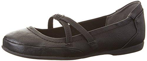 Schuhe Schwarz Mary Janes (Marco Tozzi Damen 24224 Mary Jane Halbschuhe, Schwarz (Black Antic 002), 38)