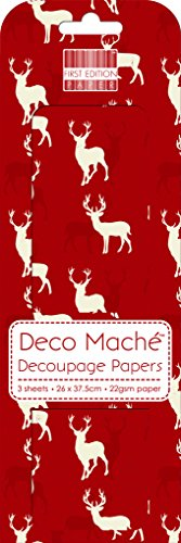 red-stag-deco-mache-x-3-velina-patch-sheet-first-edition-craft