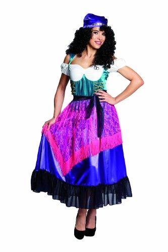 Rubie's 1 3703 42 - Zigeunerin Kostüm, 2-teilig, Größe - Zigeuner Kostüm