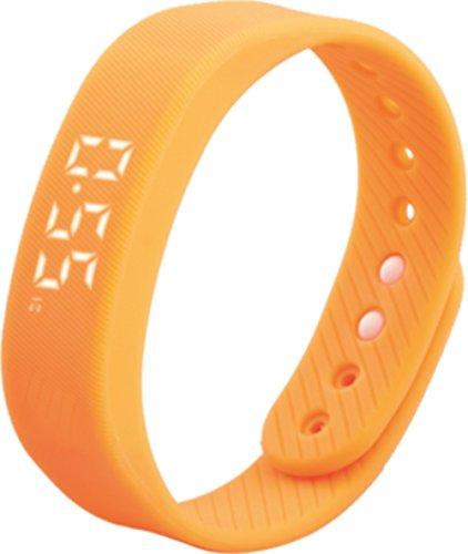 3D Intelligent Meter lunghezza bracciale contapassi 3D Smart sport Wristband visualizzazione data e ora, rimovibile USB di ricarica, movimento distanza misura auto data polso T5