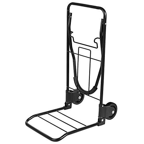 Carrello Portacasse Manuale Da Trasporto Portata Carrello Pieghevole Carrello in ferro Carrello Portapacchi 50kg