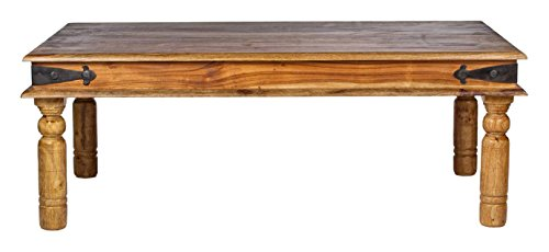 Mercers Furniture Indian Jali Coffee Table - Indian Rosewood, 110 x 60 cm