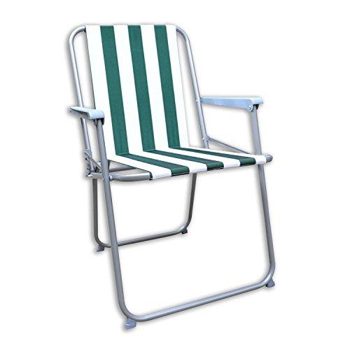 Generic. ng Beac Camping Plage Air BBQ Party Chaise Ping de Plage Pliable à Rayures Pliable Nouveau Jardin Patio Lding S Deck Pique-Nique Rden Patio