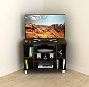 BLUEWUD Gautier Engineered Wood TV Entertainment Unit/Set Top Box Stand/Book Shelf (Wenge)