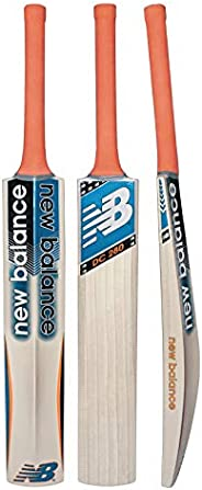 new balance DC-280 / TC-260 Kashmir Willow Cricket Bat with Bat Cover - Short Handle (Full Size)