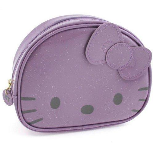 Trousse cosmétique Hello Kitty Camomilla Lilas pailleté