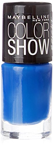 Maybelline Color Show Bright Sparks, Blazing Blue, 706  available at amazon for Rs.83