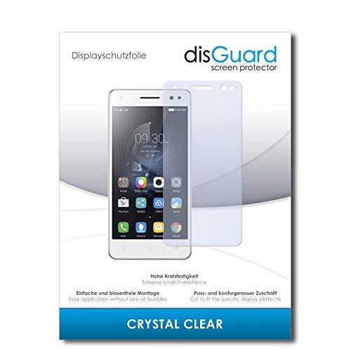 disGuard® Bildschirmschutzfolie [Crystal Clear] kompatibel mit Lenovo Vibe S1 Lite [4 Stück] Kristallklar, Transparent, Unsichtbar, Extrem Kratzfest, Anti-Fingerabdruck - Panzerglas Folie, Schutzfolie