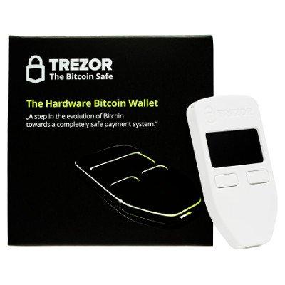 TREZOR. The original hardware wallet (black)