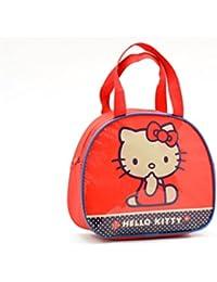Bolso Alto Con Asas Hello Kitty Capacidad 20 x 8 x 23 cms