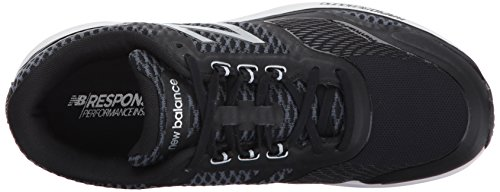 New Balance Mw1865v1, Chaussures Multisport Indoor Homme Black/Silver
