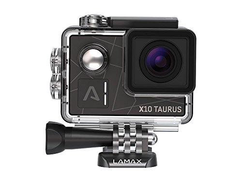 LAMAX X10 Taurus Action Kamera 'TRUE 4K' Full HD Electronic Image Stabilization, WiFi, 12MP, 170...