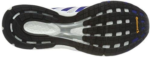 adidas Unisex-Erwachsene Adizero Boston 6 AKTIV Laufschuhe Mehrfarbig (Ftwr White/Collegiate Royal/Scarlet)