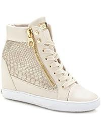 Zapatos Zapatillas Beige Para Guess es Amazon Y Mujer f4PgIq