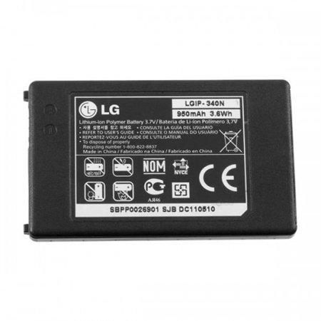 Akku Original LG LGIP-340N für GW520, AX840, GT350Town 950mAh Li-Ion Bulk folgt Kompatibilität '. (N Bulk Akku)