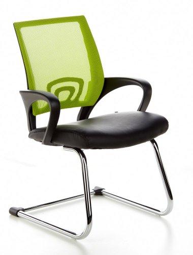 sedia-da-conferenza-visto-net-v-tessuto-netto-nero-verde-cromo