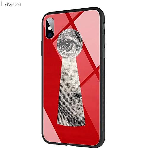 SUNNYFOR Fornasetti TPU-Schutzhülle Aus Gehärtetem Glas Für Das iPhone XS Max Xr X 8 7 6 6S Plus